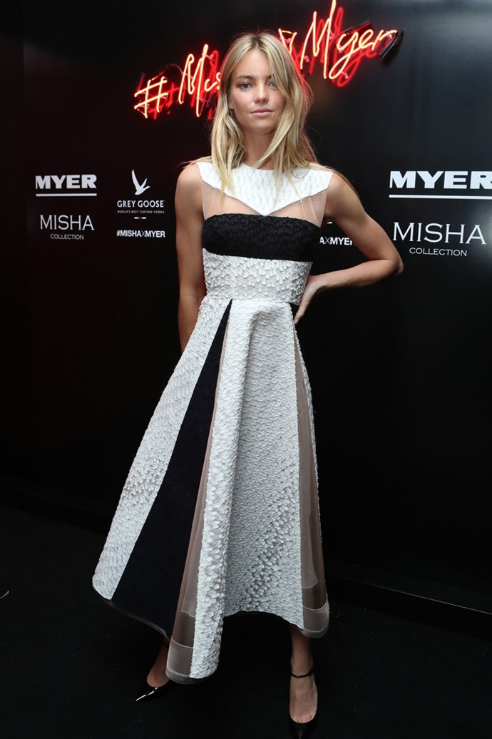 Elyse Taylor at the Misha Collection and Myer party at Bondi Icebergs.