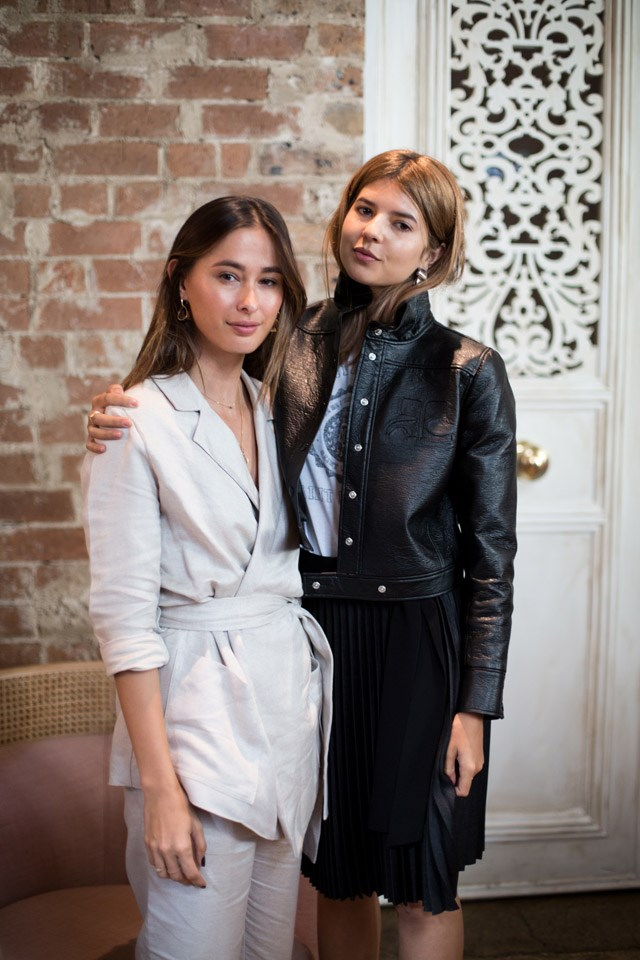 <strong>Netaporter launch for Jet-A-Porter</strong> <br><br> Eleanor Pendelton and Talisa Sutton