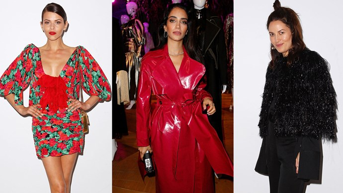 See who's stepped out to celebrate local design talent at the most stylish Fashion Week parties.