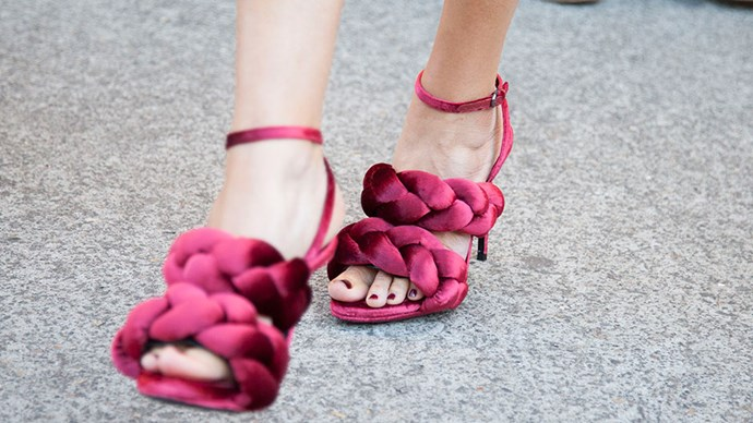 Marco de Vincenzo shoes<br><br> Image: Getty