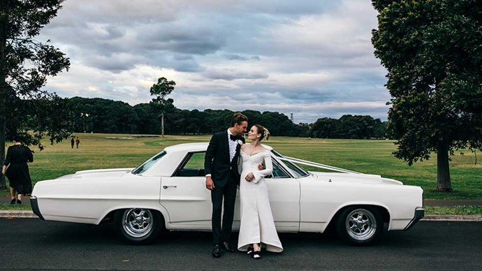 Inside the charming, and particularly elegant, wedding of Tanya and Thomas.