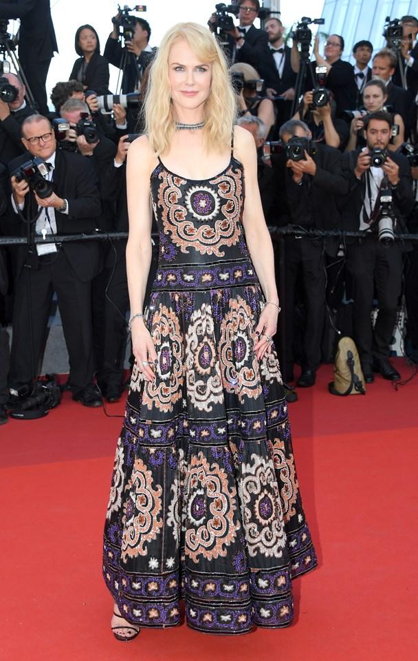 Nicole Kidman in Armani Prive.