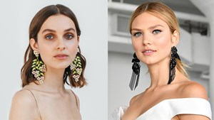 Statement Bridal Earrings Are Having A Moment