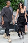 Kim Kardashian Kanye West Couple Dressing