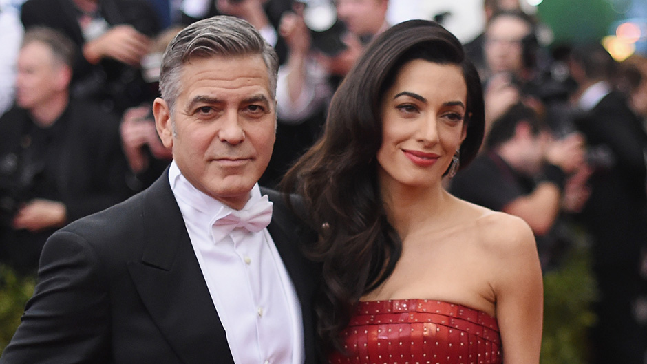 George & Amal Clooney Welcome Twins Ella & Alexander