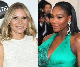 Gwyneth Paltrow and Serena Williams