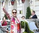 Céline Dion Stepped Out Wearing The Floral Suit Of Your Dreams