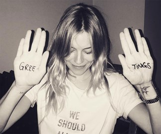 Sienna Miller joins Instagram