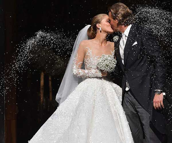 Michael Cinco creates wedding gown for Swarovski heiress