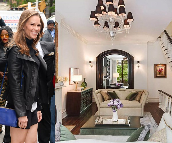 Hilary Swank's $15 million townhouse