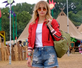 Glastonbury 2017 celebrity style