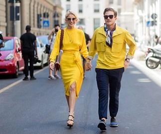 Street Style Men's Fashion Week