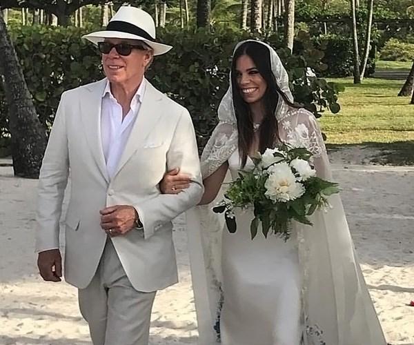 Tommy Hilfiger Ally Hilfiger Wedding Married