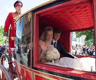 german royal family wedding