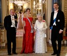 Kate Middleton And Queen Letizia Dazzle In Tiaras At The Royal State Banquet