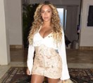Beyoncé Was Spotted Out On The Town In A Miniskirt, So We Can All Go Home Now