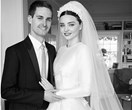 See How Miranda Kerr's Stunning Dior Wedding Gown Was Made