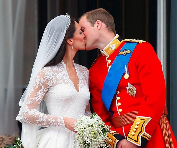 Kate Middleton Kiss
