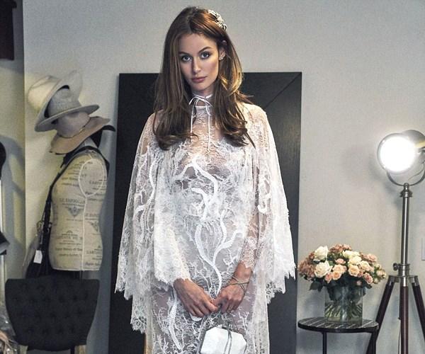 Wedding reception dress