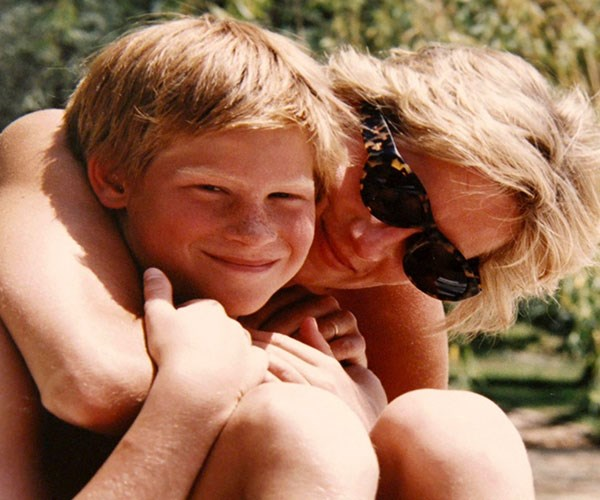 Prince William And Prince Harry Just Shared Private Family Photos Of Princess Diana