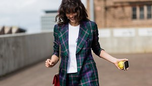 If You Invest In One Print This Season, Make It Plaid