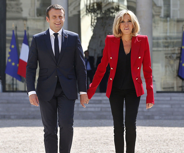 Brigitte Macron promises 'informal' first lady role