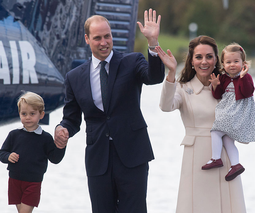 Prince William Thinks Charlotte Is Going to Be 'Trouble' Someday