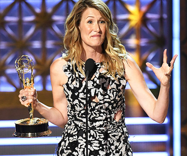 Emmys 2017: Jackie Hoffman yells 'damn it' after loss to Laura Dern