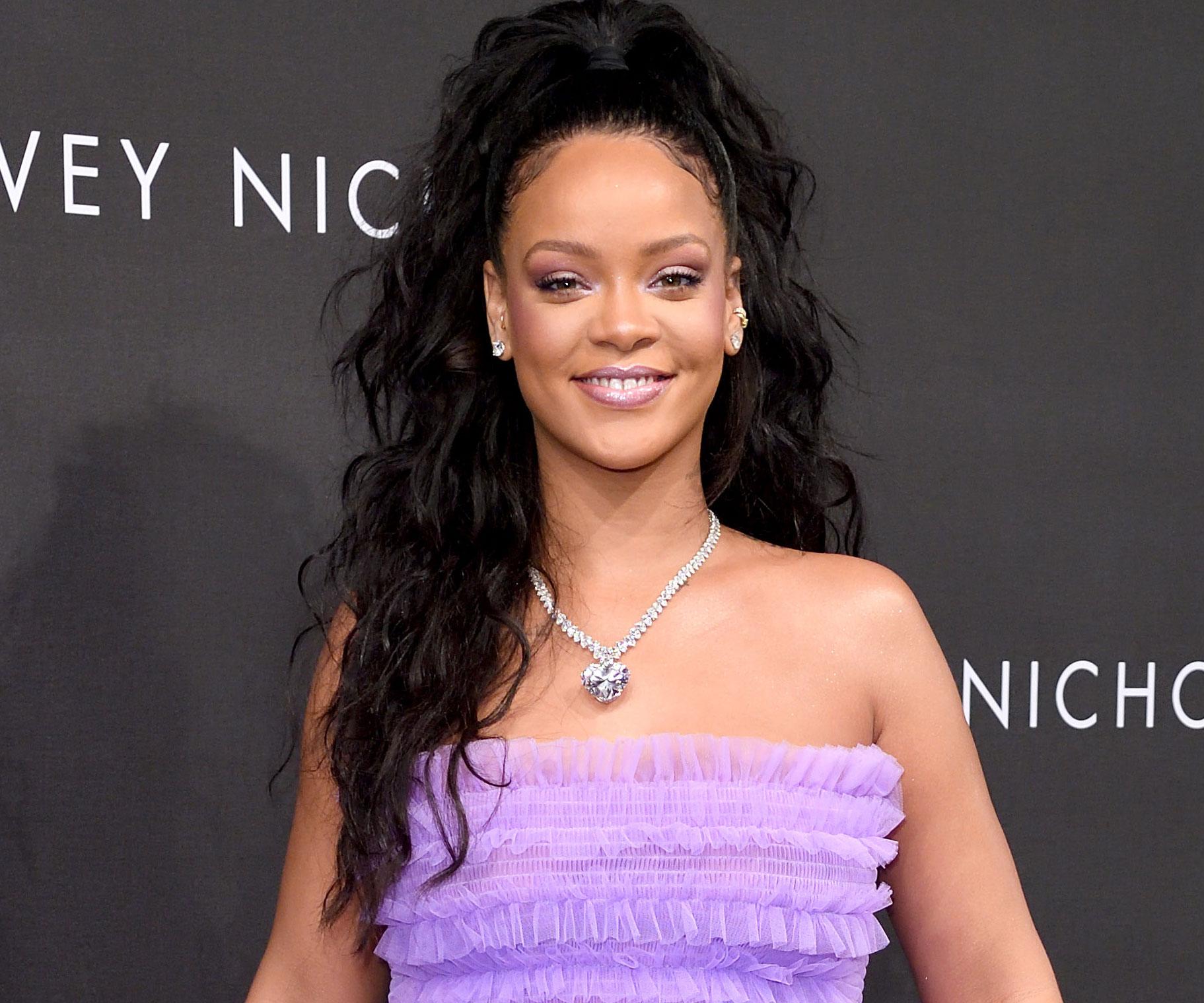 Rihanna dazzles at Fenty Beauty launch in London