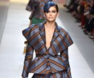 Kaia Gerber Opens For Fendi