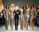 Versace Hosted The Ultimate Supermodel Reunionon the Runway