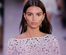 Emily Ratajkowski Made A Rare Runway Appearance For Bottega Veneta