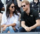 All The Adorable Pictures From Meghan Markle And Prince Harry's First Public Outing