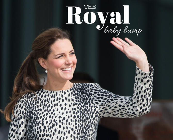Catherine Duchess of Cambridge Stylish Second Pregnancy Fashions