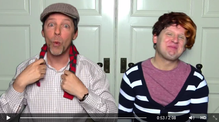 Sean Hayes And Husband Lip-Sync Song For Mother's Day