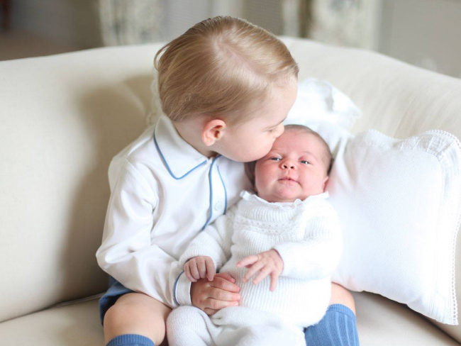 The Royals Release Adorable Photos of Prince George and Princess Charlotte