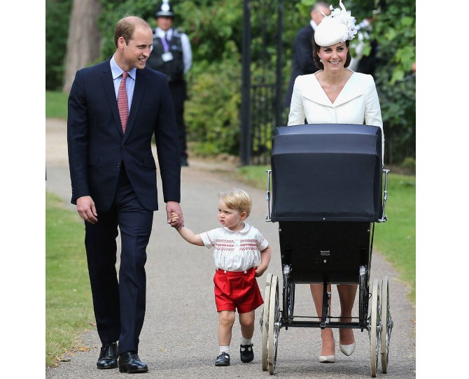 Princess Charlotte's Royal Christening in Sandringham