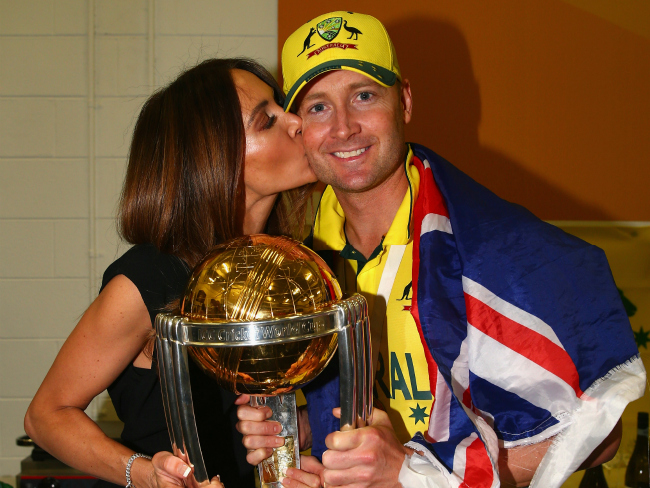 Michael Clarke and Wife Kyly Clarke Announce Pregnancy With First Child