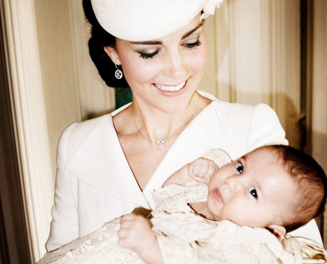 Official Photos from Princess Charlotte's Christening