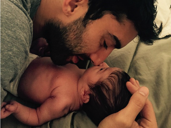 New dad Justin Baldoni shares viral love letter about wife
