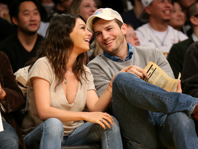 Ashton Kutcher Insists on Changing Every Baby Nappy