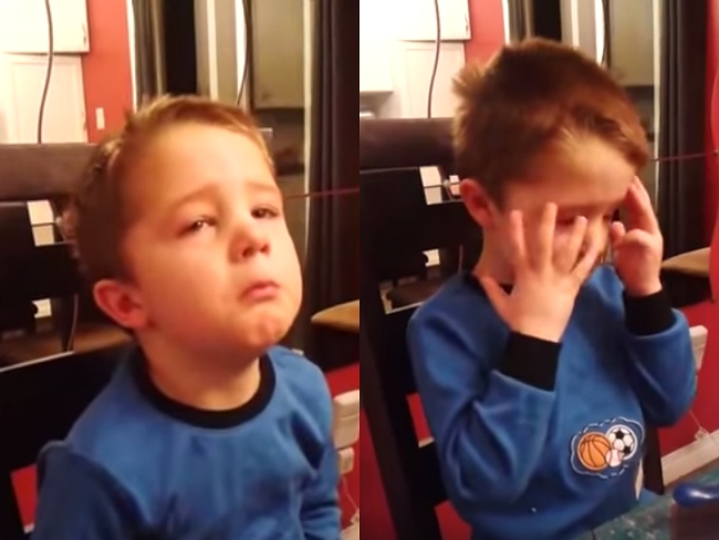 Viral video: Boy in tears, heartbroken because he can't marry grandma