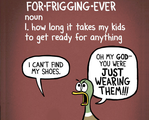 Parenting Summed up in 21 Hilarious Comics