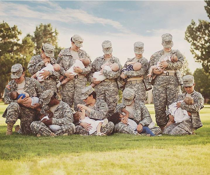 Soldiers  Photograph Goes Viral