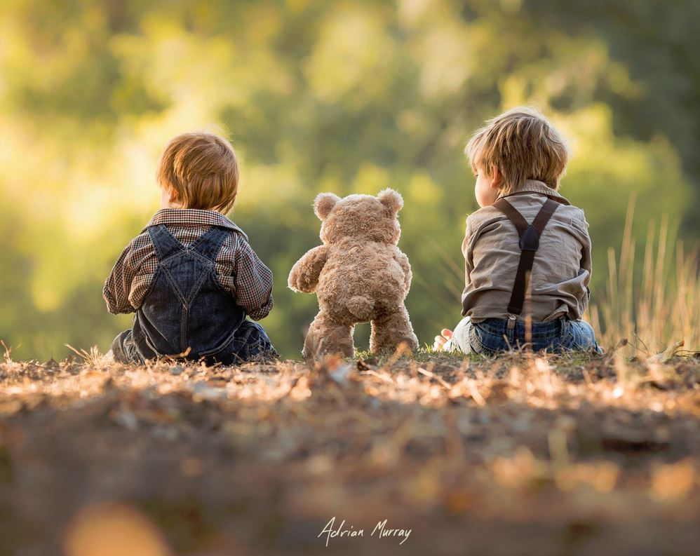 Dad Adrian Murray Captures Heartfelt Photographs Of Young Sons