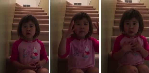VIDEO: Girl Asks Divorced Parents To Stop Fighting And Get Along