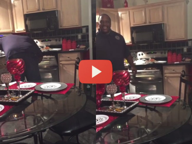 Woman Surprises Husband She Is Five Months Pregnant