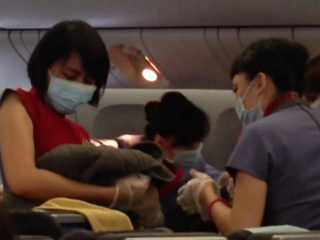 Surprise Birth on China Airlines Flight