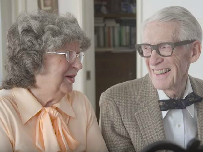 VIDEO Grandparents recreate scene from Up
