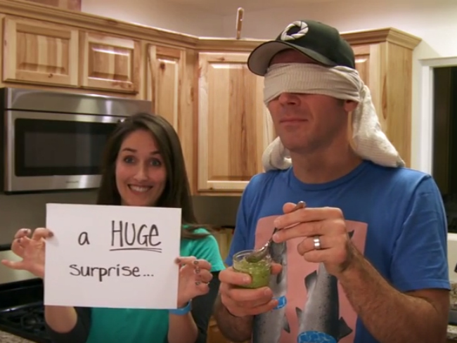 Woman Surprises Husband With Baby News With Brilliant Video Trick